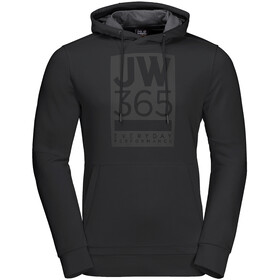 Jack Wolfskin 365 Huppari Miehet, black